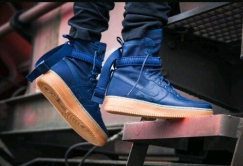 86 Taille Sf Forces Nike hommes Air spéciales 400 Bleu pour 864024 Midnight Navy Af1 826216045938 Force a88xd0T