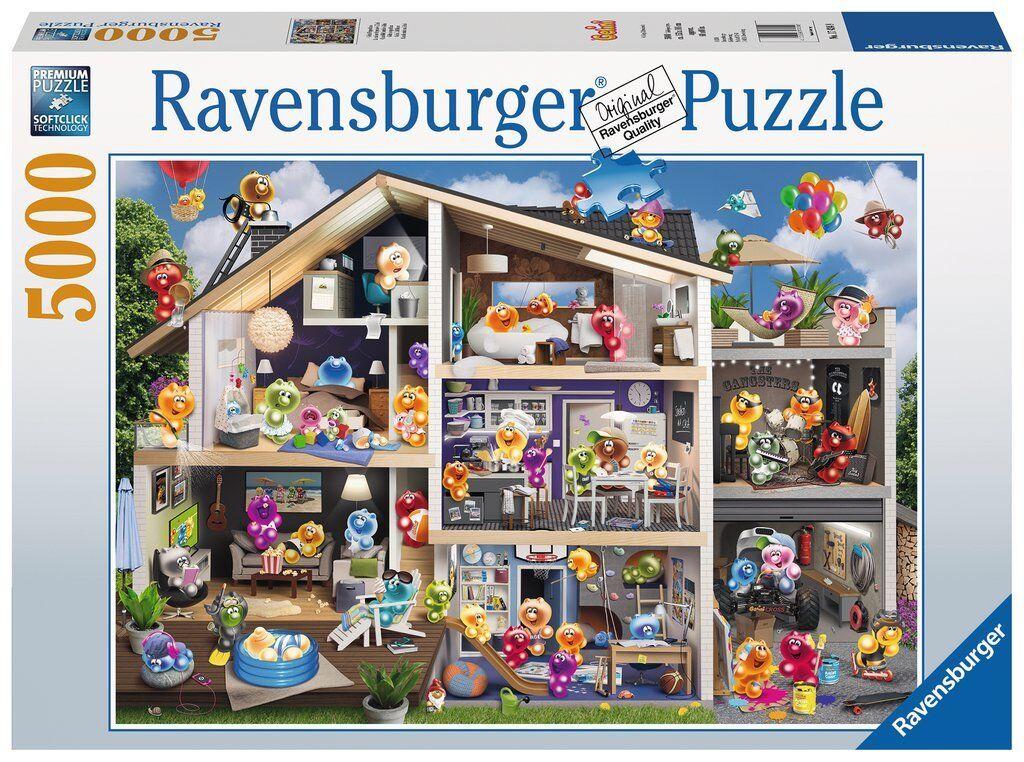 ordina ora goditi un grande sconto RAVENSBURGER Puzzle    5000 pezzi  Gelini casa delle bambole  NUOVO + OVP  risparmia il 50% -75% di sconto