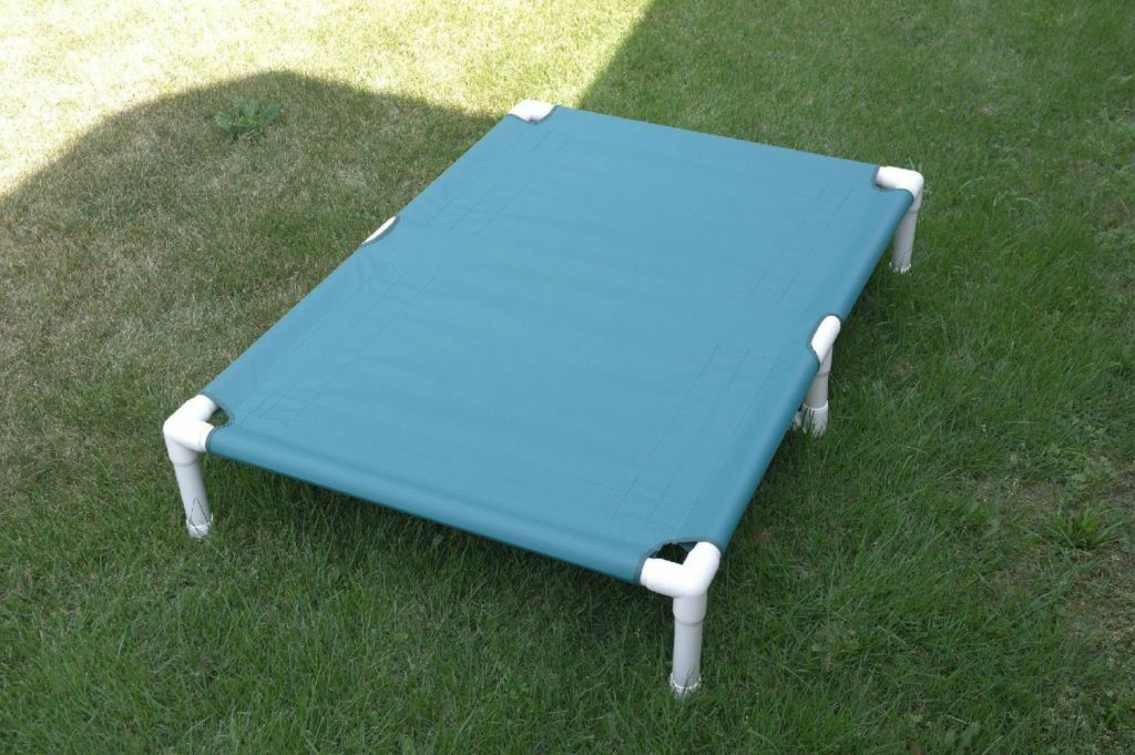 Elevated Dog Bed, Multi-Season Canvas Bed 38x55 15 colors Dogs Up To 160 Pounds