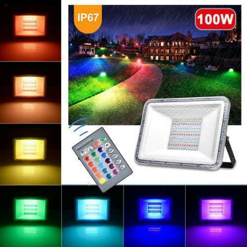 10W 20W 30W 50W 100W 300W LED Fluter Flutlicht Strahler SMD Außen Scheinwerfer