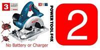 B A R E T O O L - 2 X Bosch Pro Gks 18v Circular Saws 0615990g9m 3165140810388