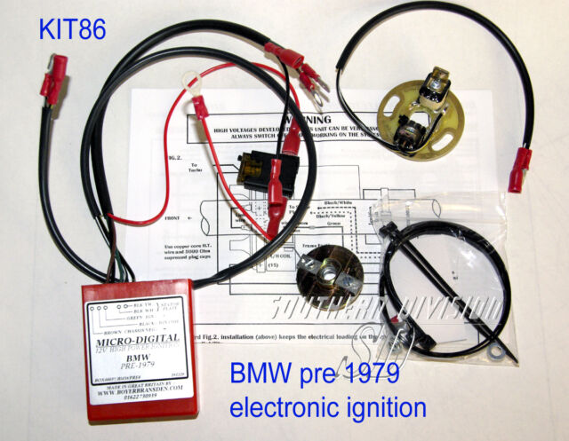 BMW Boxer vor 1979 elektronische Zündung Boyer ignition unit Micro Digital KIT86