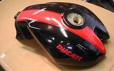 Ducati 2005 Monster S2R Fuel Tank Gas Tank 58610441CS Black with Red Stripe