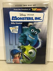 Monsters-INC-DVD-R4-Billy-Crystal-John-Goodman-Deluxe-Two-Disc-Set