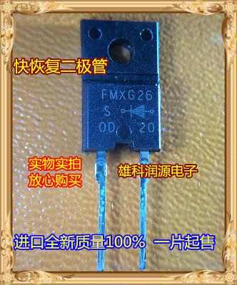 4PCS FMX-12S DIODE UFAST 200V 5A TO-220F Sanken