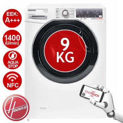 HOOVER Dynamic Extreme DWFLS G49AH-84 Waschmaschine, 9 kg, 1400 U/Min, EEK: A+++