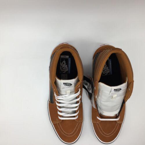 Sk8 Hombre Zapatos blanco Glaseado negro jengibre Pro hi Vans 6xwdYCq6