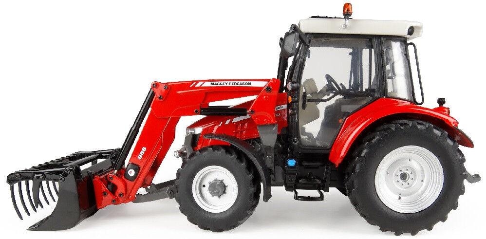 UH4903 - Tracteur MASSEY-FERGUSON 5713 SL équipé du chargeur et du relevage avan