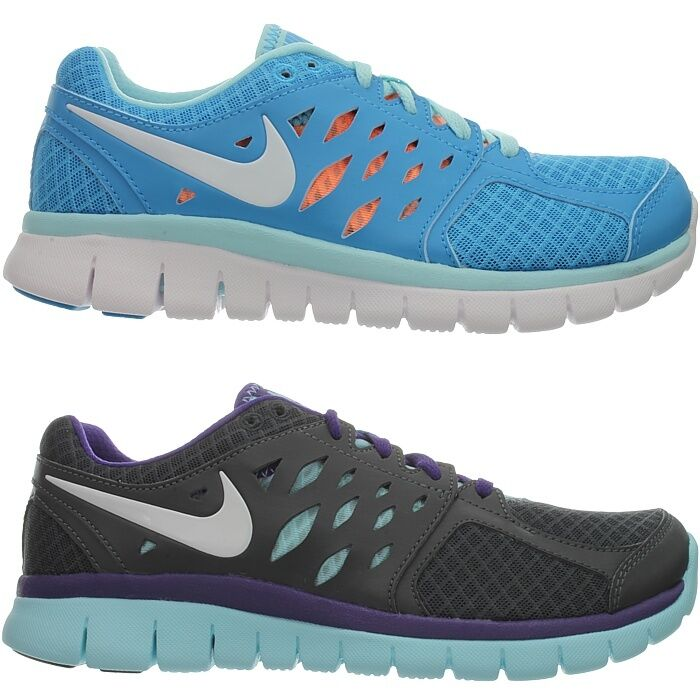 Nike WMNS FLEX 2013 RUN MSL women's running shoes sneakers bluee anthracite NEW