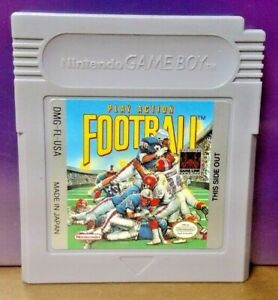 Play-Action-Football-Nintendo-Game-Boy-Color-GB-Rare-TESTED-GBA-Advance-GBC