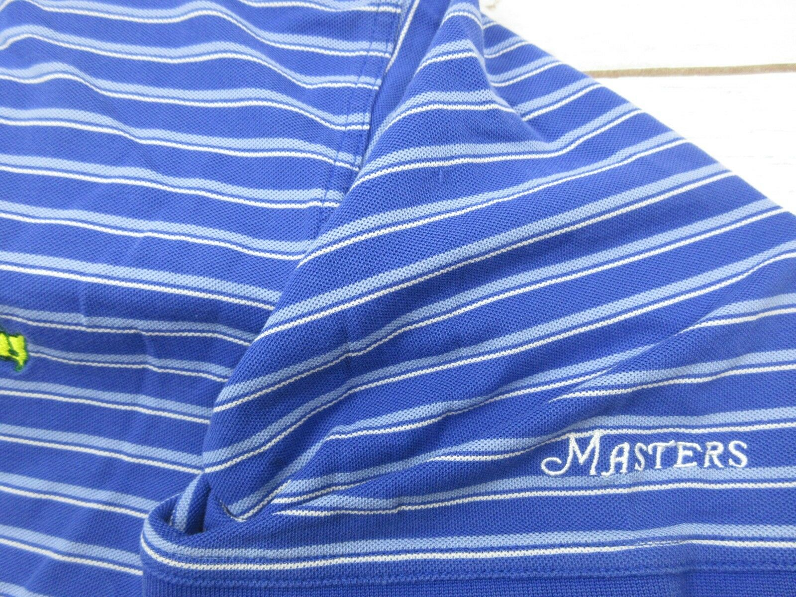 Masters Collection Polo Shirt Mens XL 60's Two Pl… - image 3