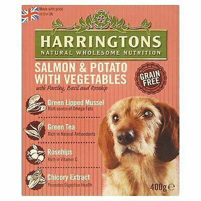 Harringtons Wet Salmon And Potato Dog Food 8 X 400g For Sale Online Ebay