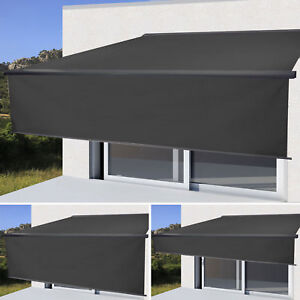elektrische markise h124 4x3m ausfahrbarer volant. Black Bedroom Furniture Sets. Home Design Ideas