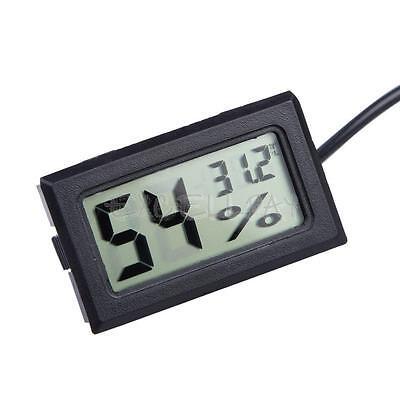 LCD Indoor/ Outdoor Thermometer Hygrometer Wet Gauge Temperature Humidity Meter