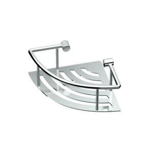 13 Chrome Gatco 1463 Elegant Corner Shelf