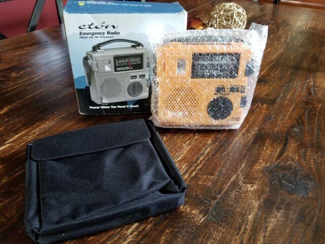 New Eton Emergency Radio FR200 AM/FM Shortwave Radio