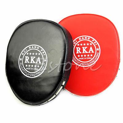 Mitt MMA Karate Combat Boxing Training Thai Kick Focus Target Punch Pad Glove