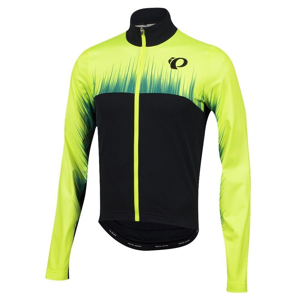 Pearl Izumi Select Thermal LTD Cycling Bike Jersey Surge Screaming Yellow Medium
