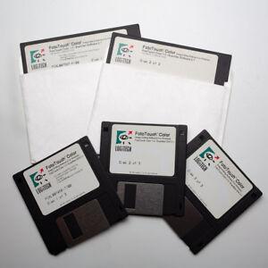 Vintage-Logitech-FotoTouch-Color-1-0-ScanMan-S-W-2-1-Software-1992