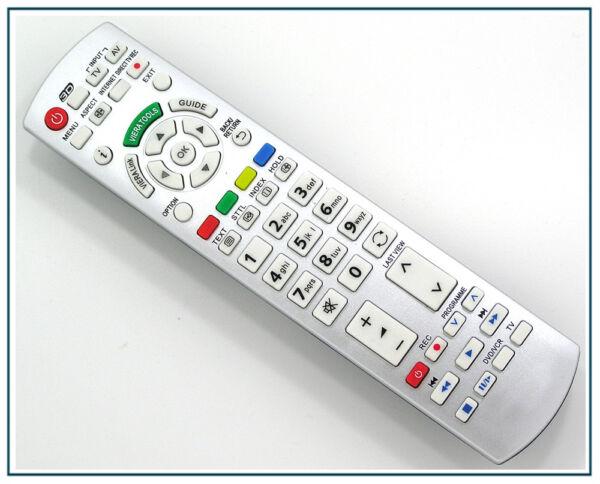 IndéPendant Remplacement Télécommande Pour Panasonic Tv Tx-l37dt30y Tx-l37dt35 Tx-l37dt35e Dissipation Rapide De La Chaleur