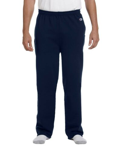 Champion Adult 9 oz Double Dry Eco Open Bottom Fleece Pant With Pockets P800