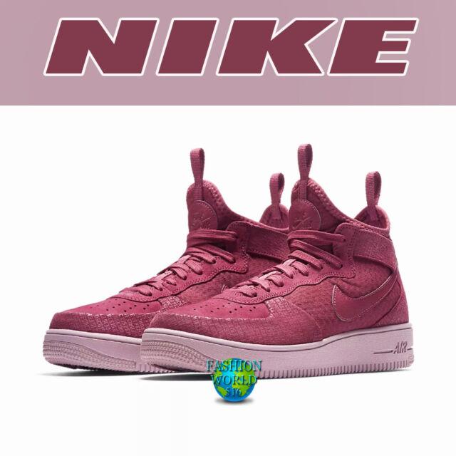 fadb849fb Nike Women's Sz 9.5 Air Force 1 Ultraforce Mid FIF Shoes Vintage Wine  Aj1701-600 for sale online | eBay