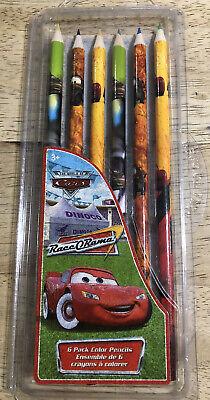 Disney Pixar CARS Race O Rama - 6 Pack Colored Pencils   eBay