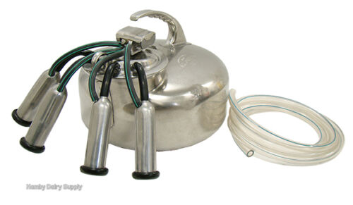 Surge Cow Bucket Milker Medium bore rebuilt by Hamby Dairy Supply