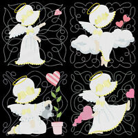 Angel Luv Sunbonnets - 36 Machine Embroidery Designs (azeb)