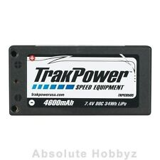 TrakPower 2S 7.4V 80C 4600mAh Hard Case Short LiPo Battery - TKPC0505