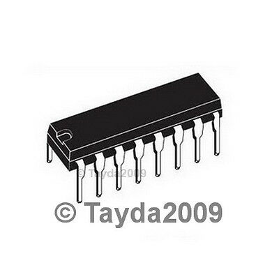 2 x 74HC595 8 bit Shift Register IC DIP-16  TEXAS