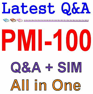 PMI Certified Associate in Project Management CAPM PMI-100 Exam Q&A PDF+SIM