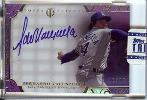 Fernando-Valenzuela-2015-Topps-Tribute-Framed-Auto-Autograph-Dodgers-FV-10-10