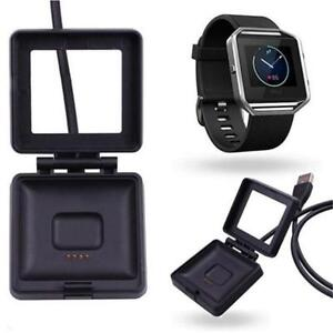 Fitbit Blaze Remplacement Charge Usb Câble Cordon Adaptateur Secteur Supply Cradle Dock-afficher Le Titre D'origine