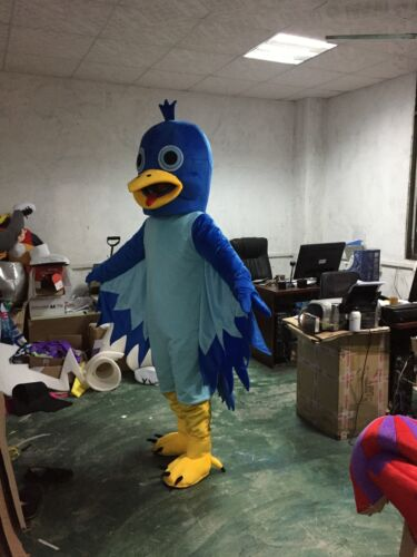 Cosplay Eagle Mascot Costume Woodpecker Animal Dress Parade Deluxe Outfit Suits