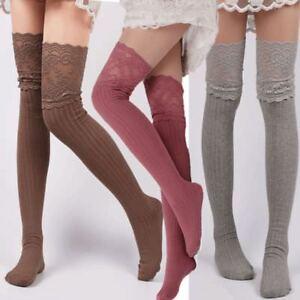 1edb8a058 Non-slip Stockings Over Knee Stockings High Tube Socks Knee-high ...