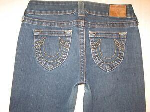 Religion moyenne Taille Bootcut Distressed Stretch Jeans W Rachel Femmes True 28 Sz dxWqw6dH0