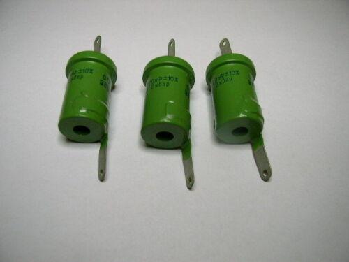 Lot of 3pcs. NOS Doorknob Capacitor K15Y-2 220pf 2kV