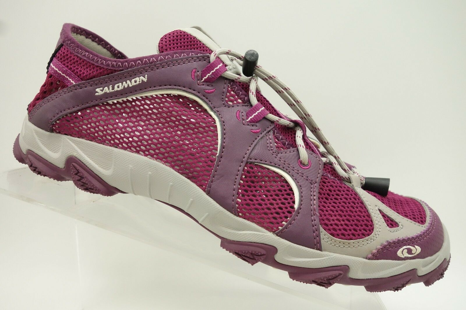 Salomon Purple Mesh Casual Athletic Sneaker shoes Womens 9.5