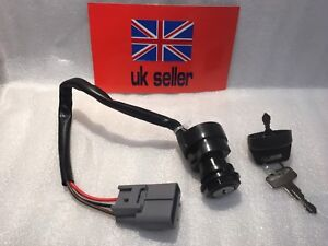 ignition switch for yamaha grizzly 660 yfm 660 quad 2 keys. Black Bedroom Furniture Sets. Home Design Ideas