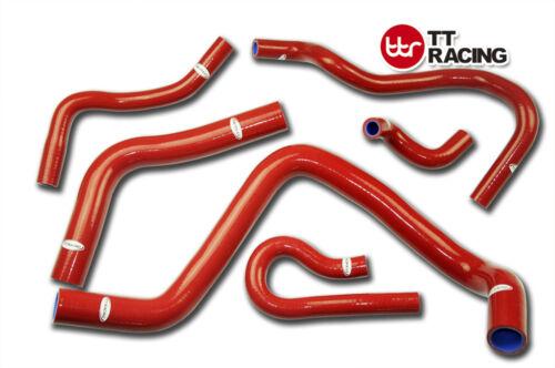 Silicone Radiator Hose Kit Honda Civic B-Series Type R DC2 EK4//9 B16A//B RED