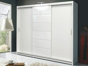 Image Is Loading Modern Design Quality Large Sliding Door Wardrobe 250