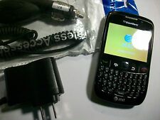 GOOD!!! BlackBerry Curve 8520 Camera QWERTY Bluetooth GSM Video AT&T SmartPhone