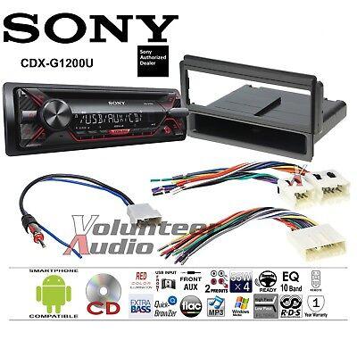 Sony Car Stereo Radio Bluetooth CD Player Dash Install Mount Kit