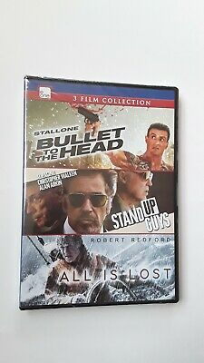3 Film Collection Bullet To The Head Stand Up Guys All Is Lost Dvd Ebay