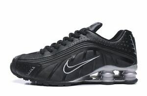 da Nike 7 sportive nere R4 argento e Scarpe Taglie 11 uomo Shox 3R54AjL