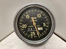 Vintage Ac Mechanical Drive Tachometer