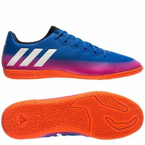 bdeb41551 adidas 17.3 IN Messi 2017 Indoor Soccer Shoes Blue - Pink - White ...