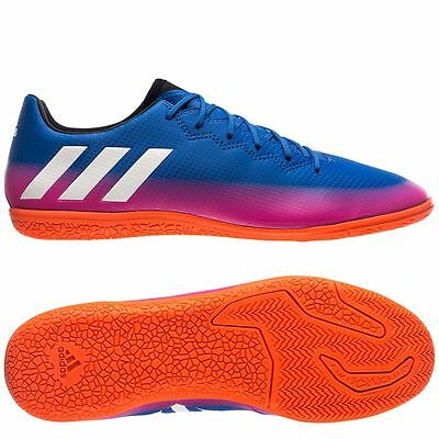 adidas 17.3 IN Messi 2017 Indoor Soccer Shoes Blue - Pink - White Brand New | eBay