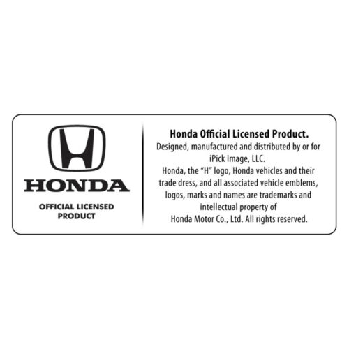 Honda Civic Si Red Logo in Black on Shining Silver Aluminum Tire Valve Stem Caps